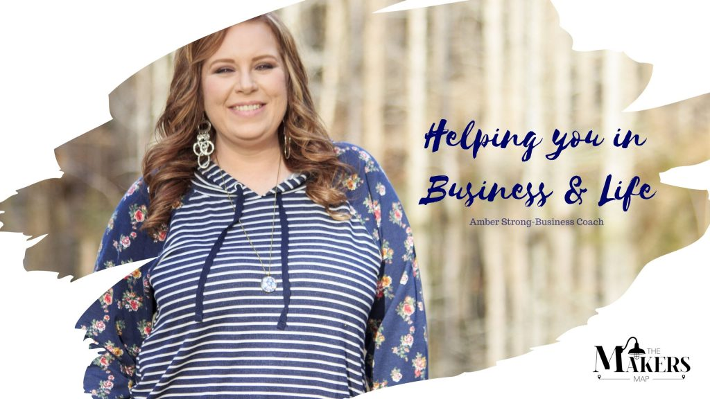 Amber Strong Business Coach and Creative Influencer.