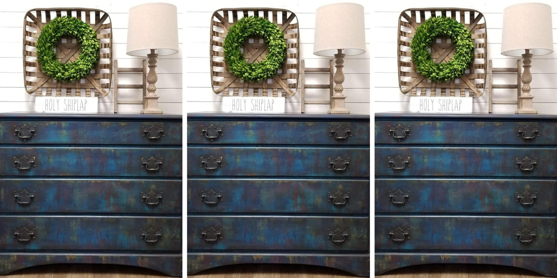 How to get a boho paint finish