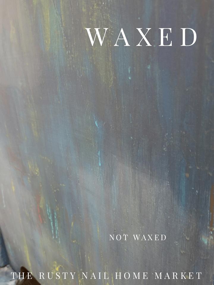going boho - waxed vs not waxed paint