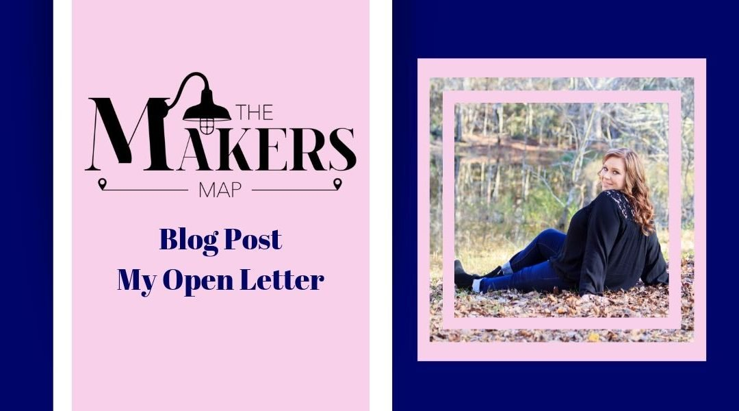 My Open Letter – Rebranding My Business