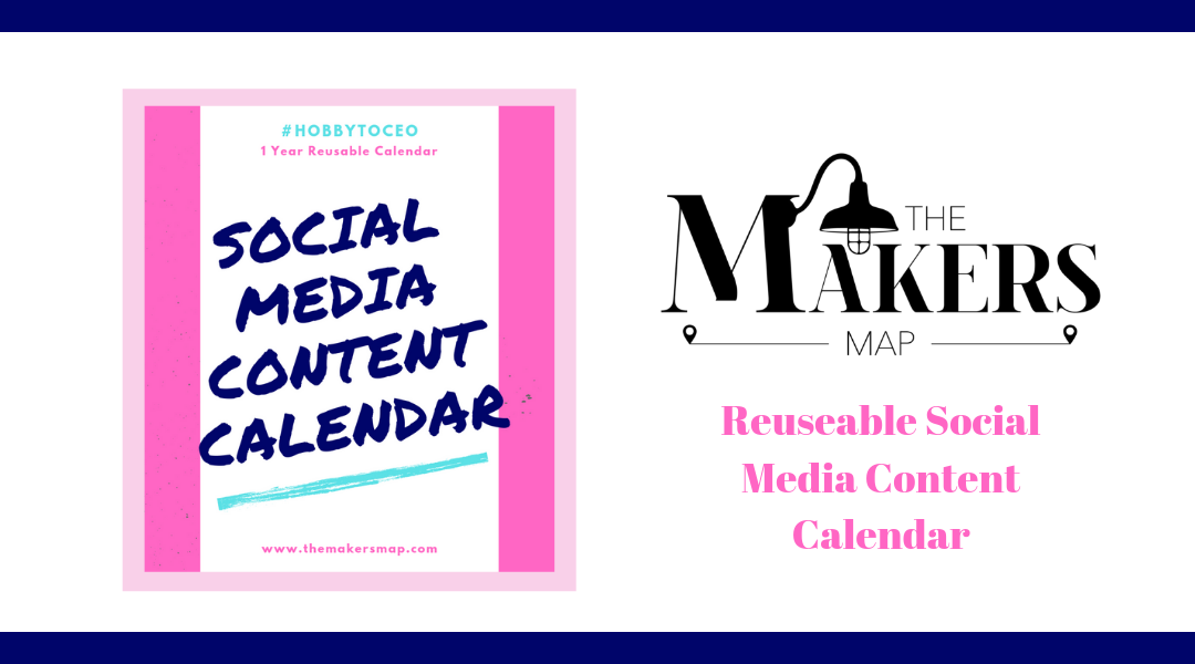 Reusable Social Media Content Calendar