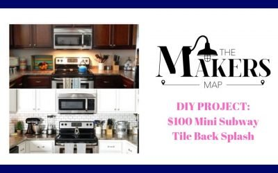 DIY Project: Mini Subway Tile Backsplash