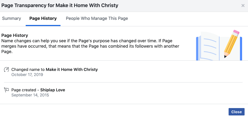 How to get your facebook page name changed step by step