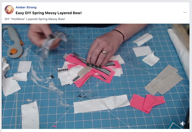 HOW TO VIDEO EASY DIY LAYERED MESSY BOW TUTORIAL