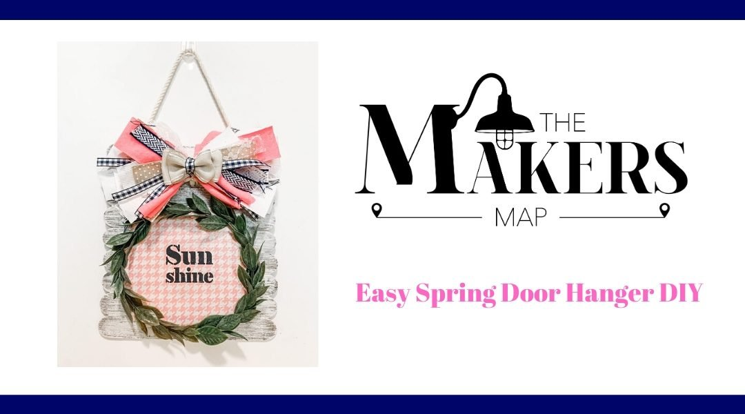 Fun and Easy DIY Spring Door Hanger