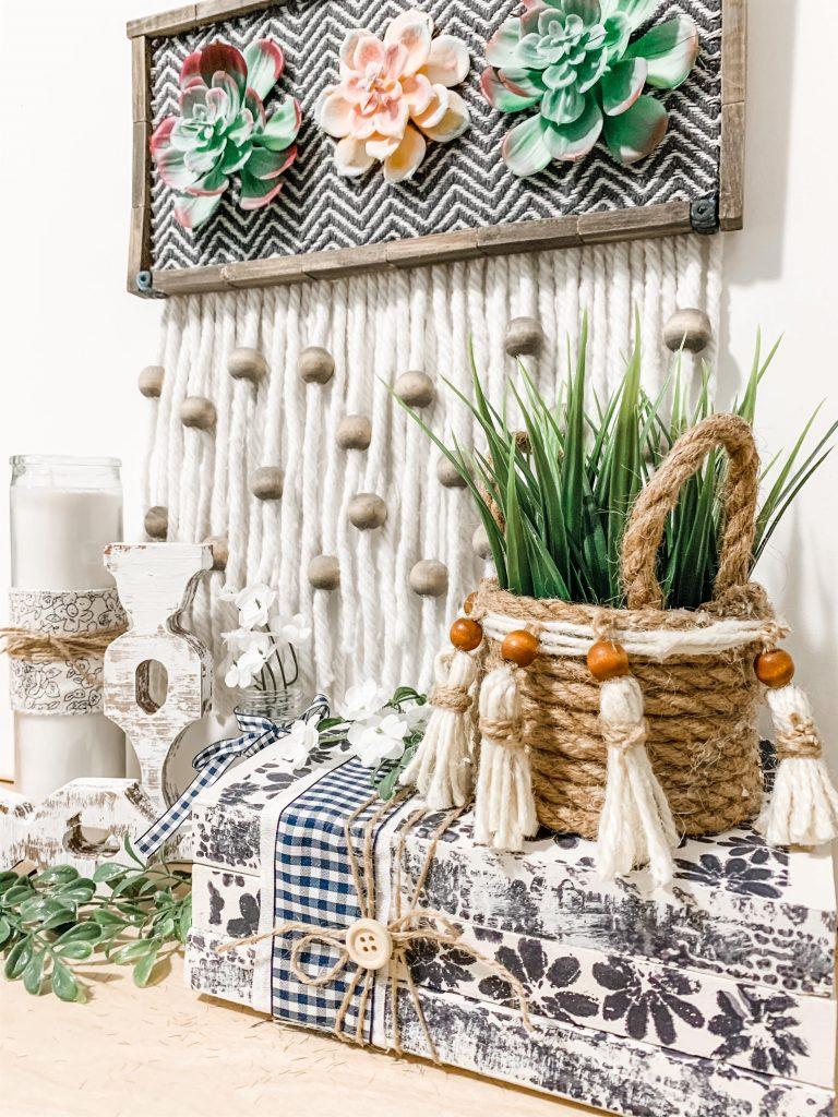 Dollar Tree Boho Farmhouse Diy Creative How To