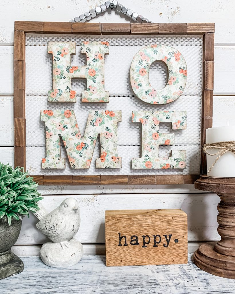 Dollar Tree DIY Farmhouse Home Decor