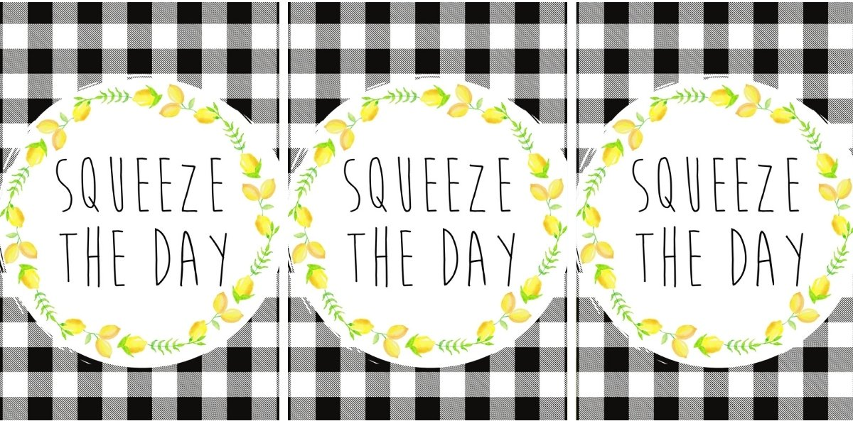 Free Farmhouse Lemon Printable