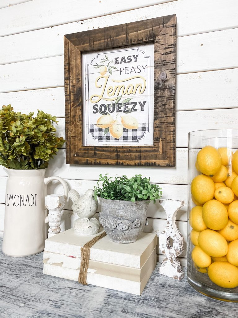 Free Easy Peasy Lemon Squeezy Printable
