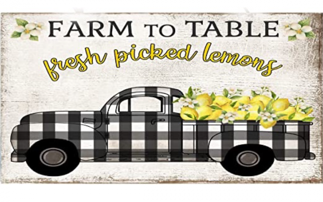 Free Lemon Truck Printable
