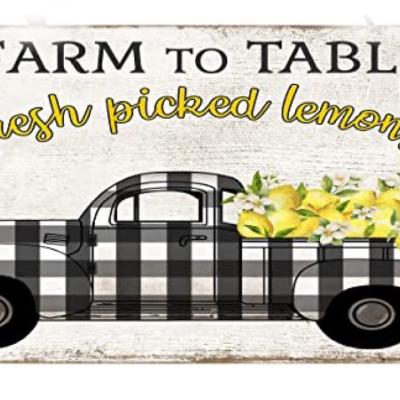 Free Lemon Truck Printable