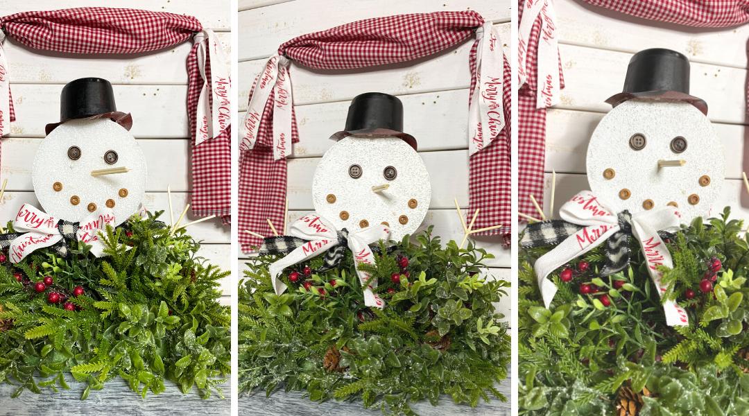 DIY Dollar Tree Christmas Centerpiece