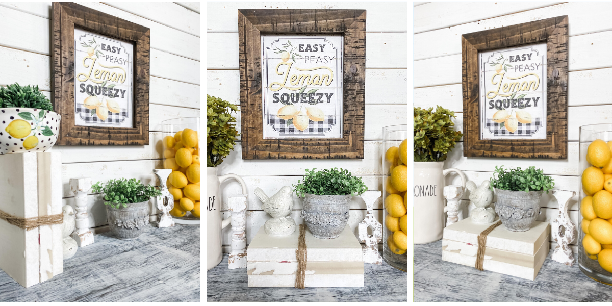 Free Easy Peasy Lemon Printable