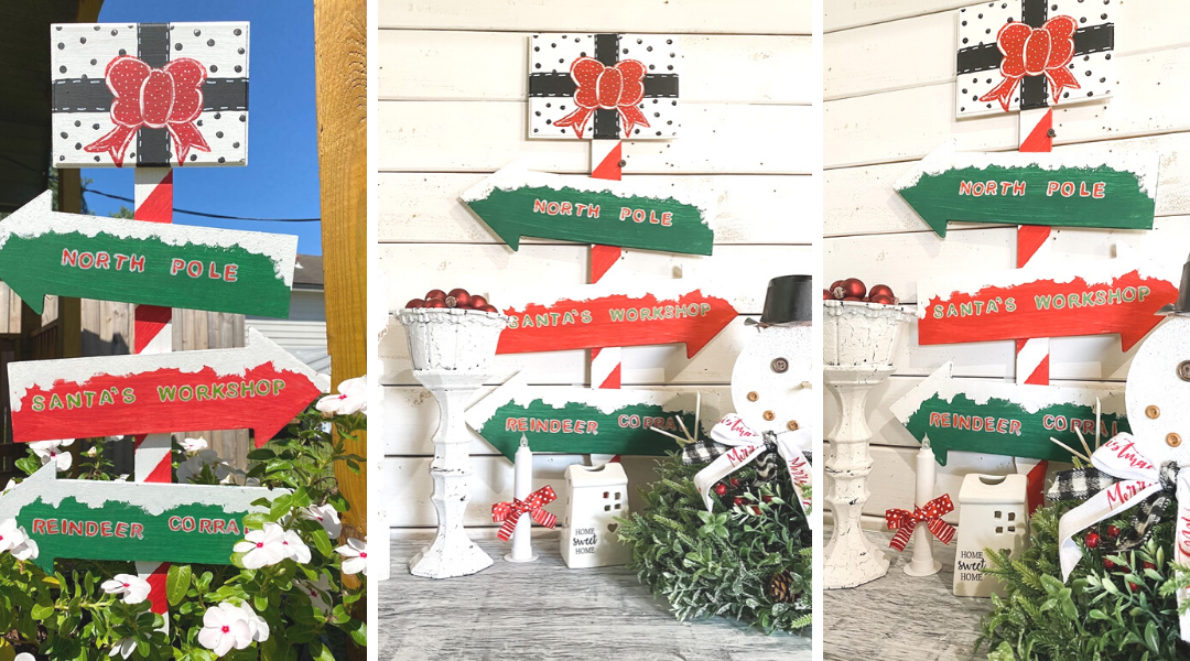 Dollar Tree Outdoor Christmas Sign