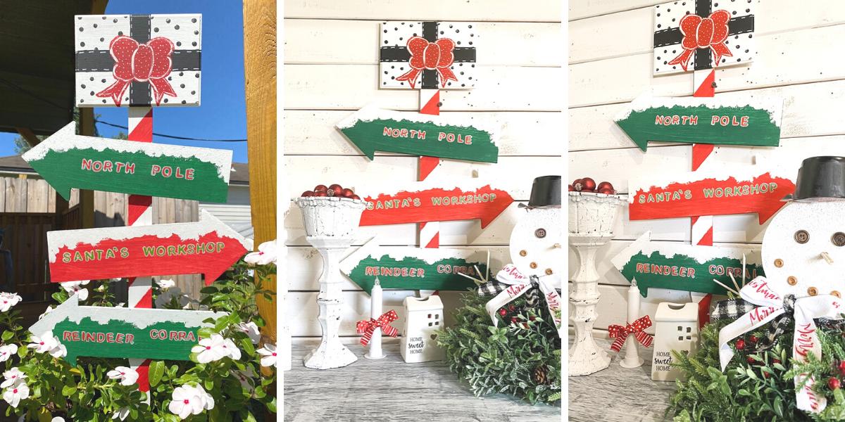 Dollar Tree Outdoor Christmas Sign