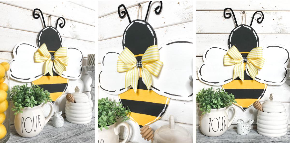 Bumble Bee Door Hanger Template