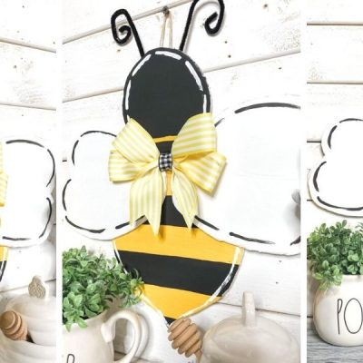 Bumble Bee Door Hanger Template