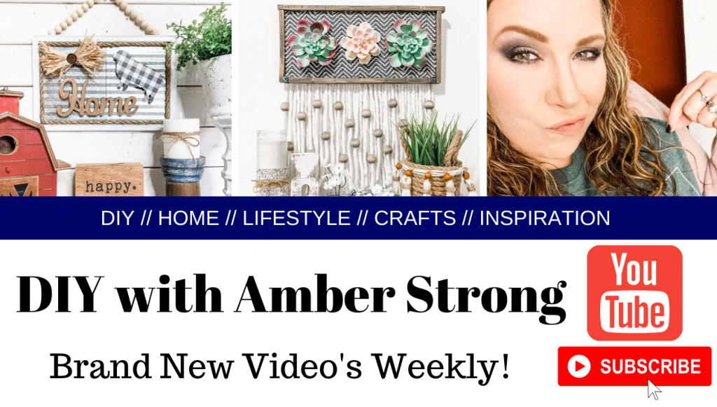DIY With Amber Strong Youtube PROMO Banner