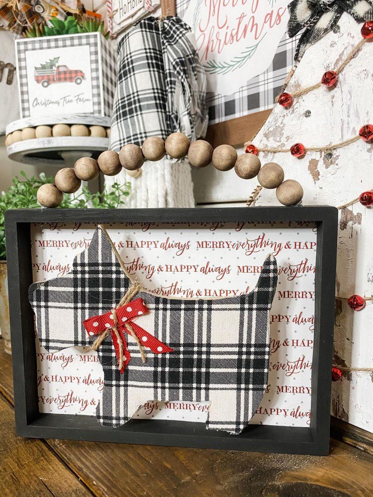 Dollar Tree DIY Farmhouse Christmas Sign