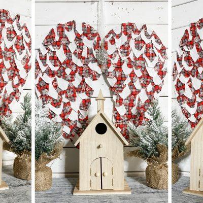 Dollar Tree DIY Christmas Angel Wings