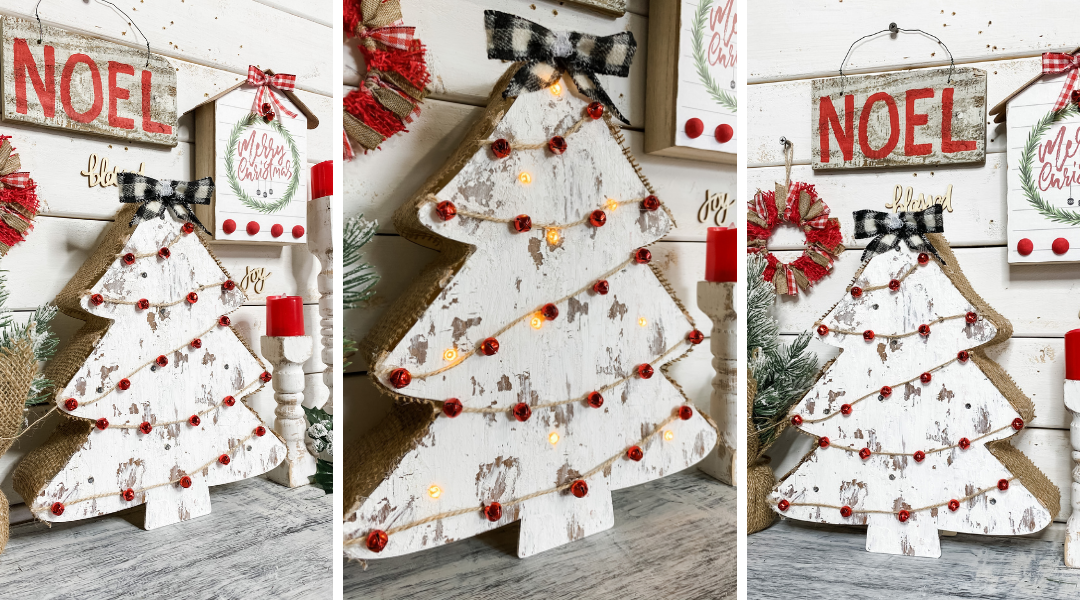 DIY Chippy Christmas Tree