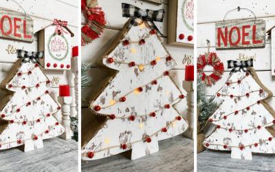 Chippy Christmas Tree DIY