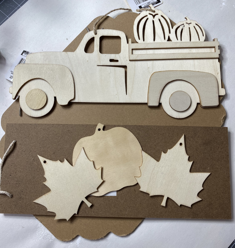 Dollar Tree Rustic Fall Supply img