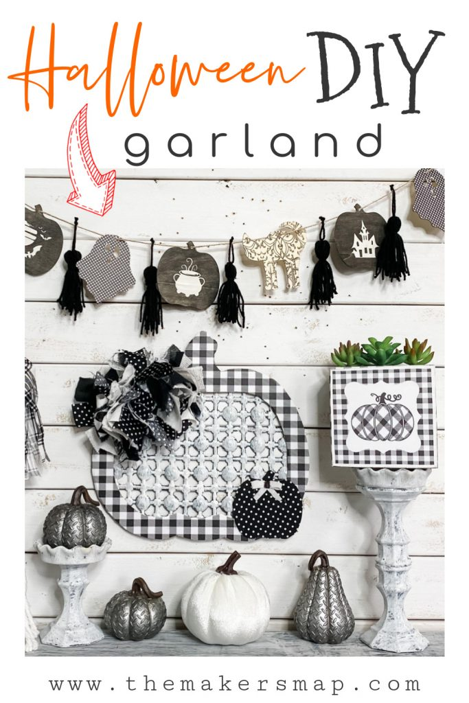 How To Make A Stenciled Halloween Diy Garland Diy With Amber