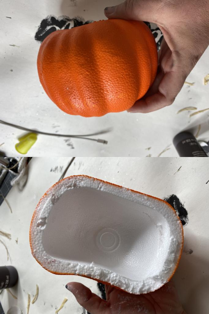 DIY pumpkin supply