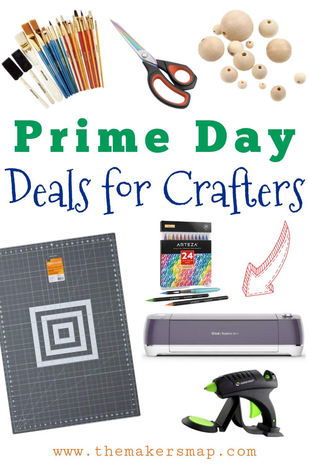 Amazon Prime Day Deals For Crafters - Craft Supplies