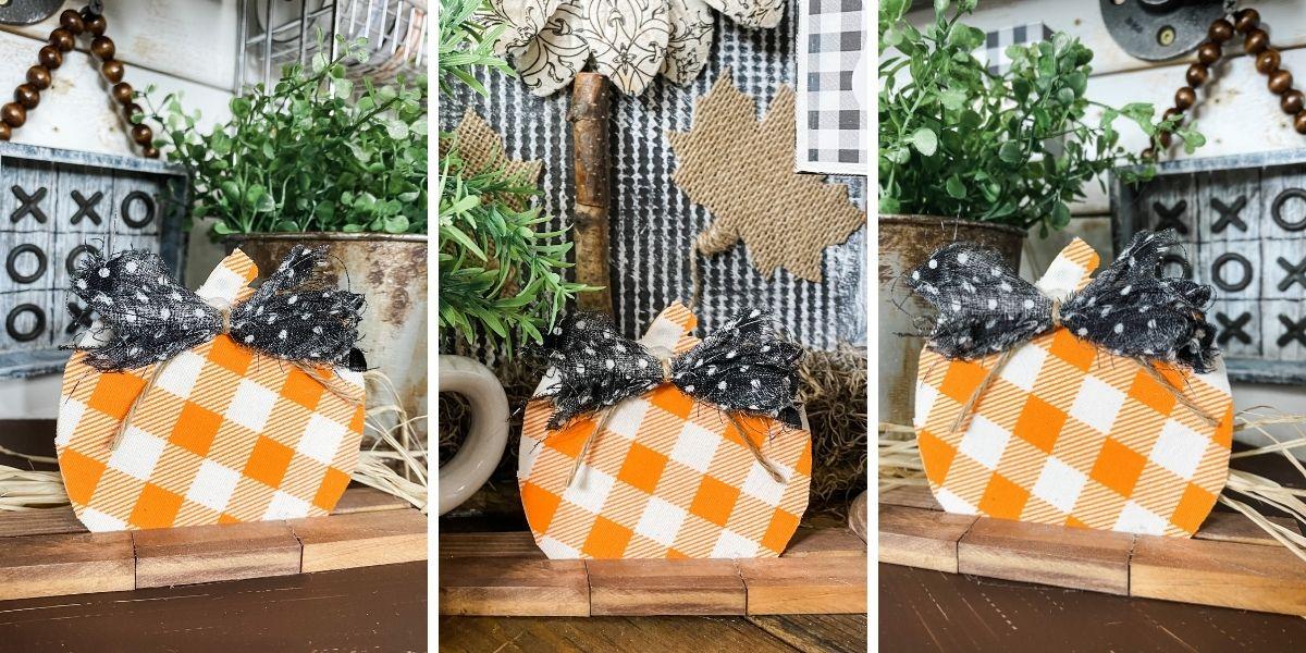 How to Make a Dollar Tree Mini Pumpkin DIY Fall Decor