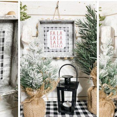 Christmas Printable Ornament DIY