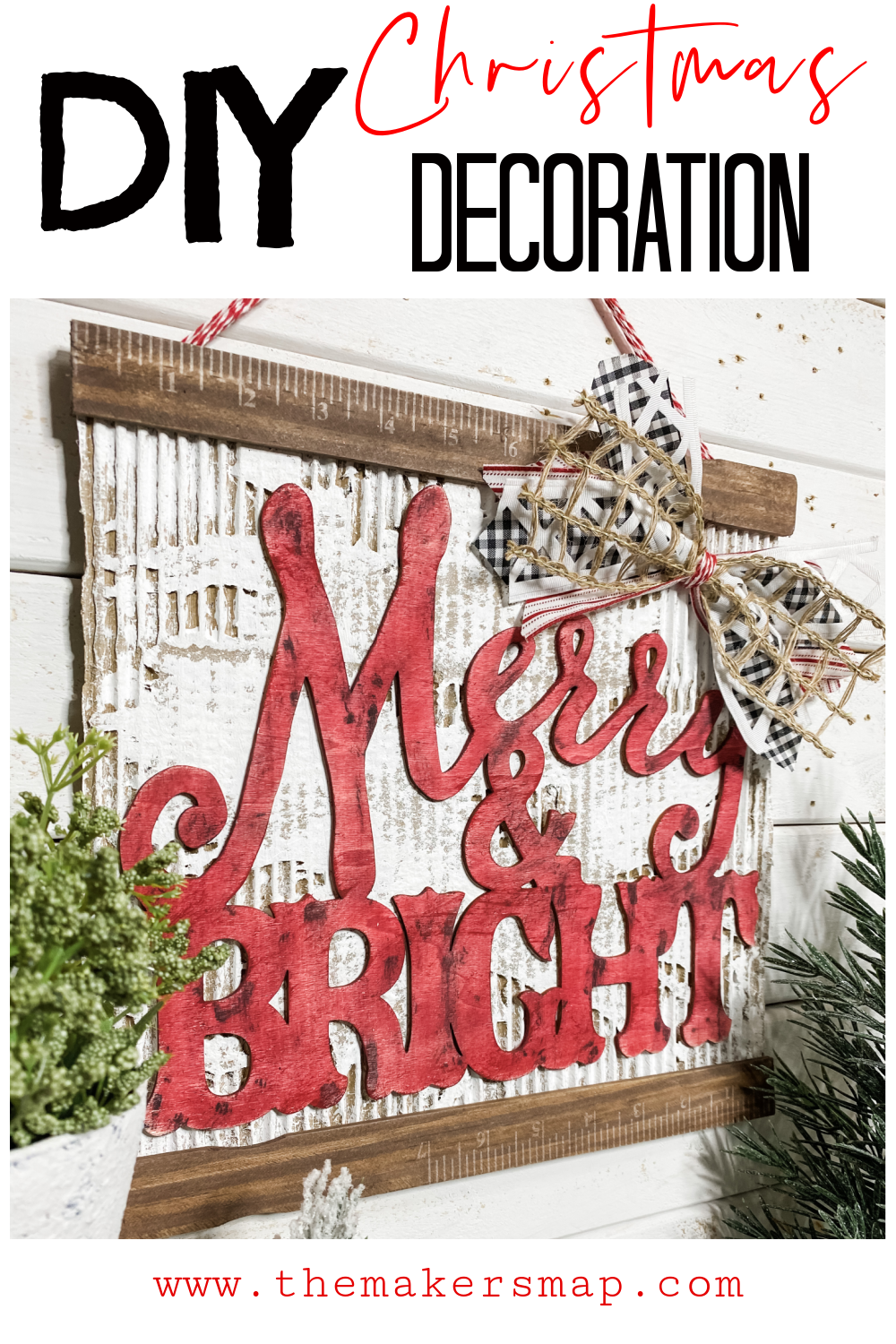 diy christmas decoration cardboard