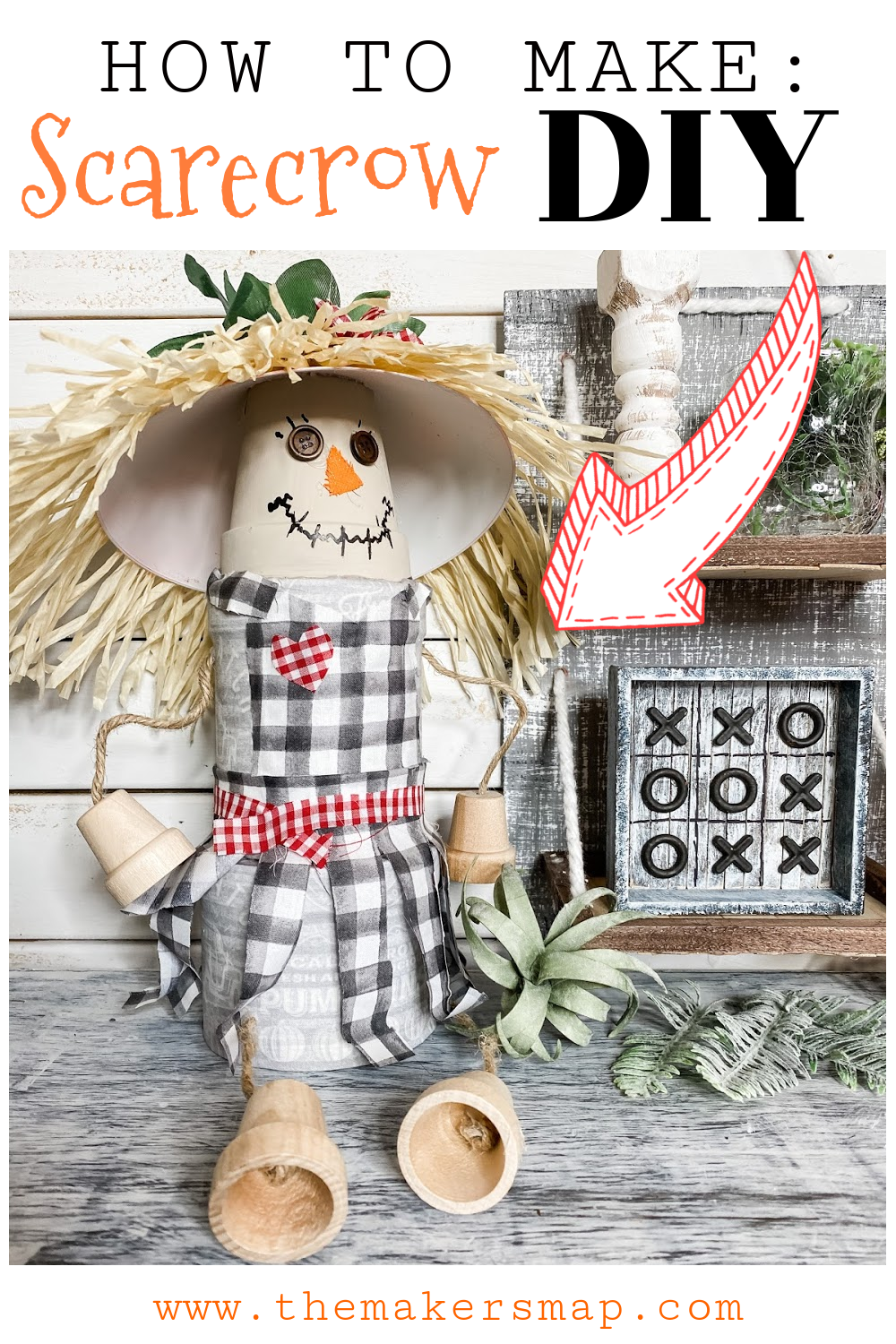 how to make scarecrow diy