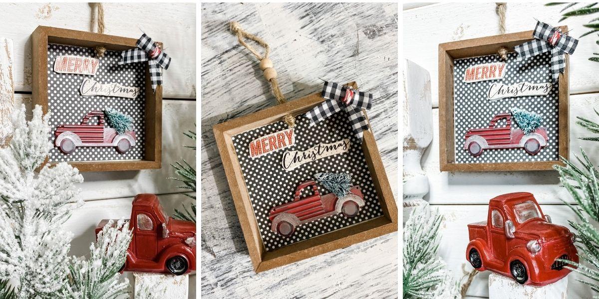 How to Make an Easy Christmas Ornament DIY