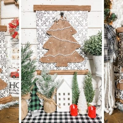 Hobby Lobby Placemat Christmas Decor DIY