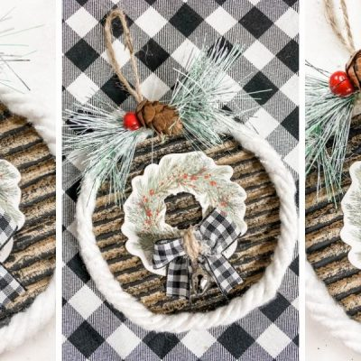 How to Make a Christmas Ornament DIY with Cardboard