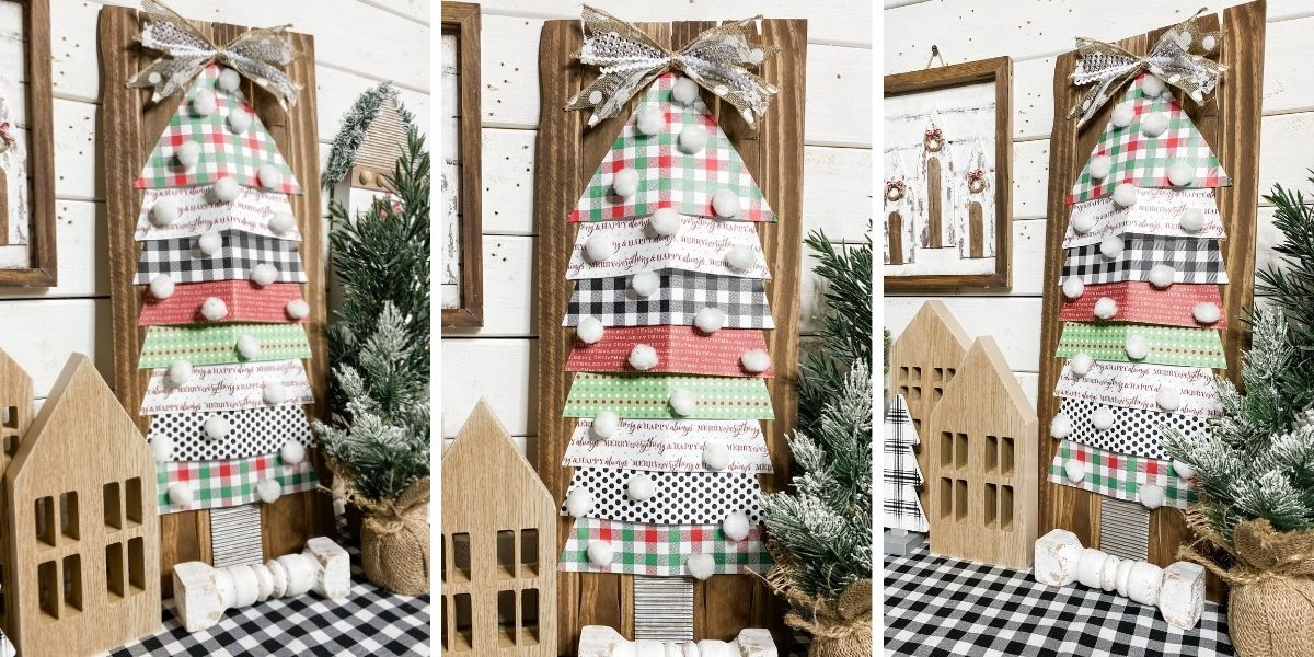 How to Make a Paper Christmas Tree DIY