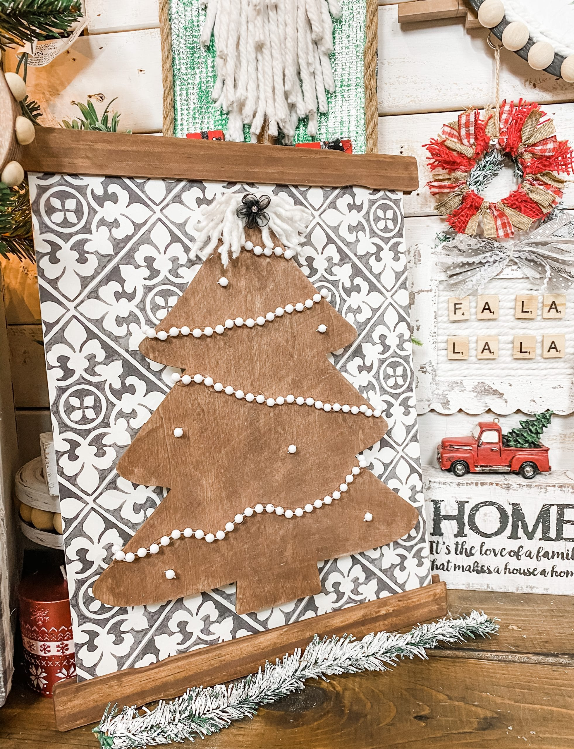 Hobby Lobby Regent Square Christmas Ornament 2021 With Us Always How To Make A Hobby Lobby Placemat Christmas Decor Diy