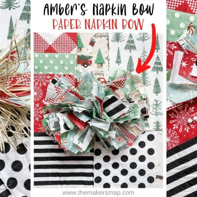 How to make Amber's Napkin bow