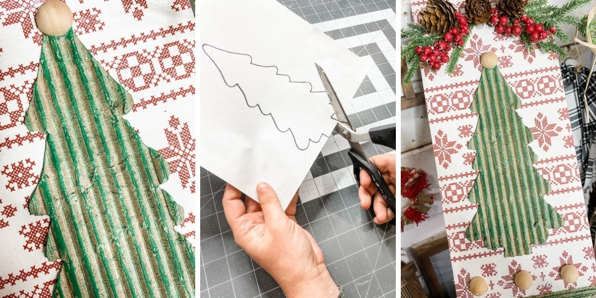 Free Christmas Tree Printable Cutout