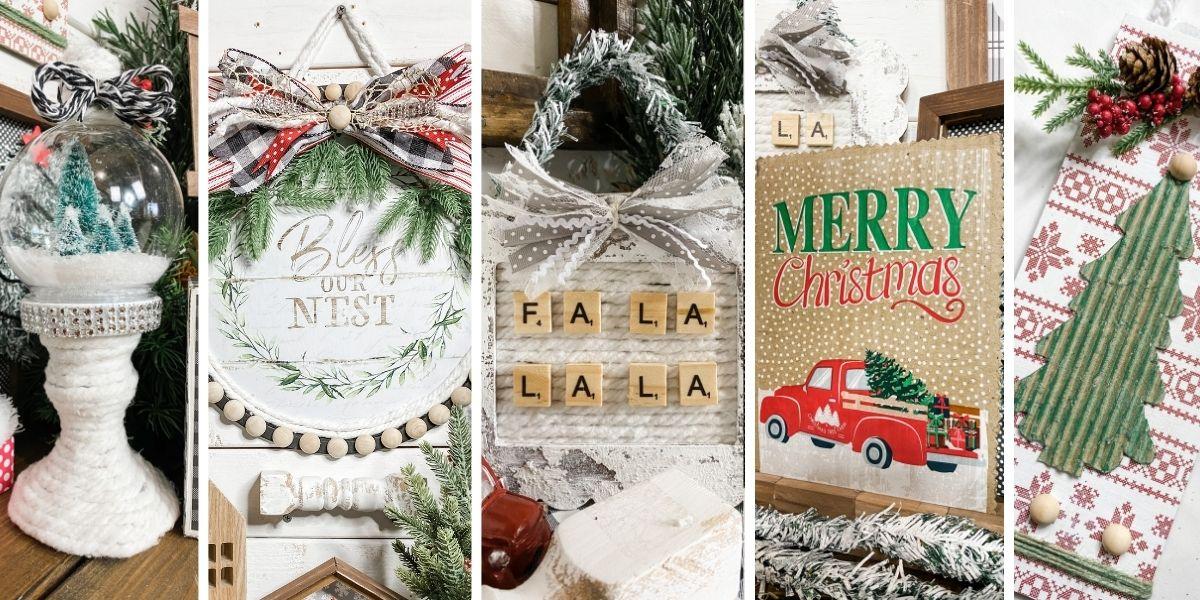 22 Dollar Tree Christmas DIY Ideas