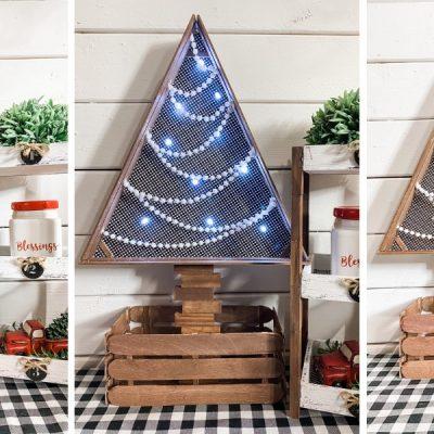 Dollar Tree Ruler Christmas Decor DIY