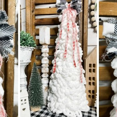 DIY Hobby Lobby Loop-It Yarn Christmas Tree