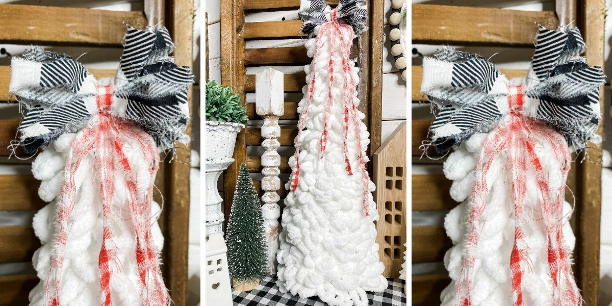 DIY Hobby Lobby Loop-It Yarn Christmas Tree