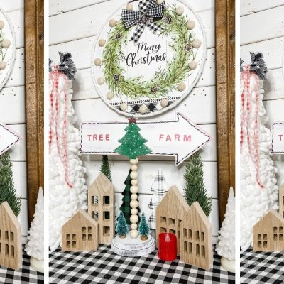 Dollar Tree DIY Christmas Tree Farm Sign
