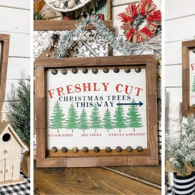 Dollar Tree Gift Box DIY Christmas Decor
