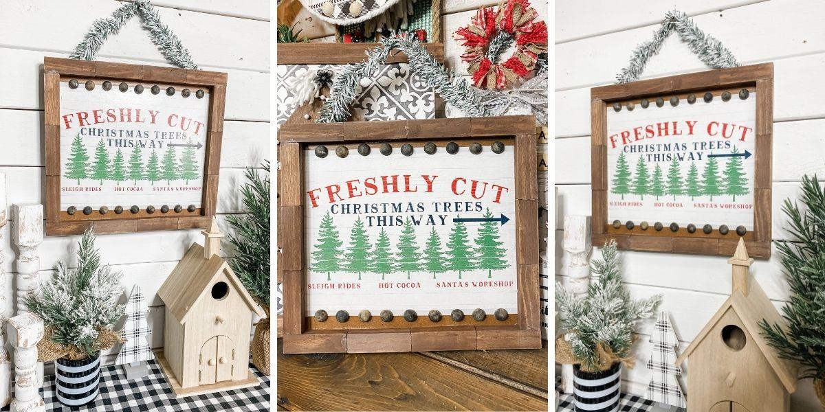 Dollar Tree Gift Box DIY Christmas Decor