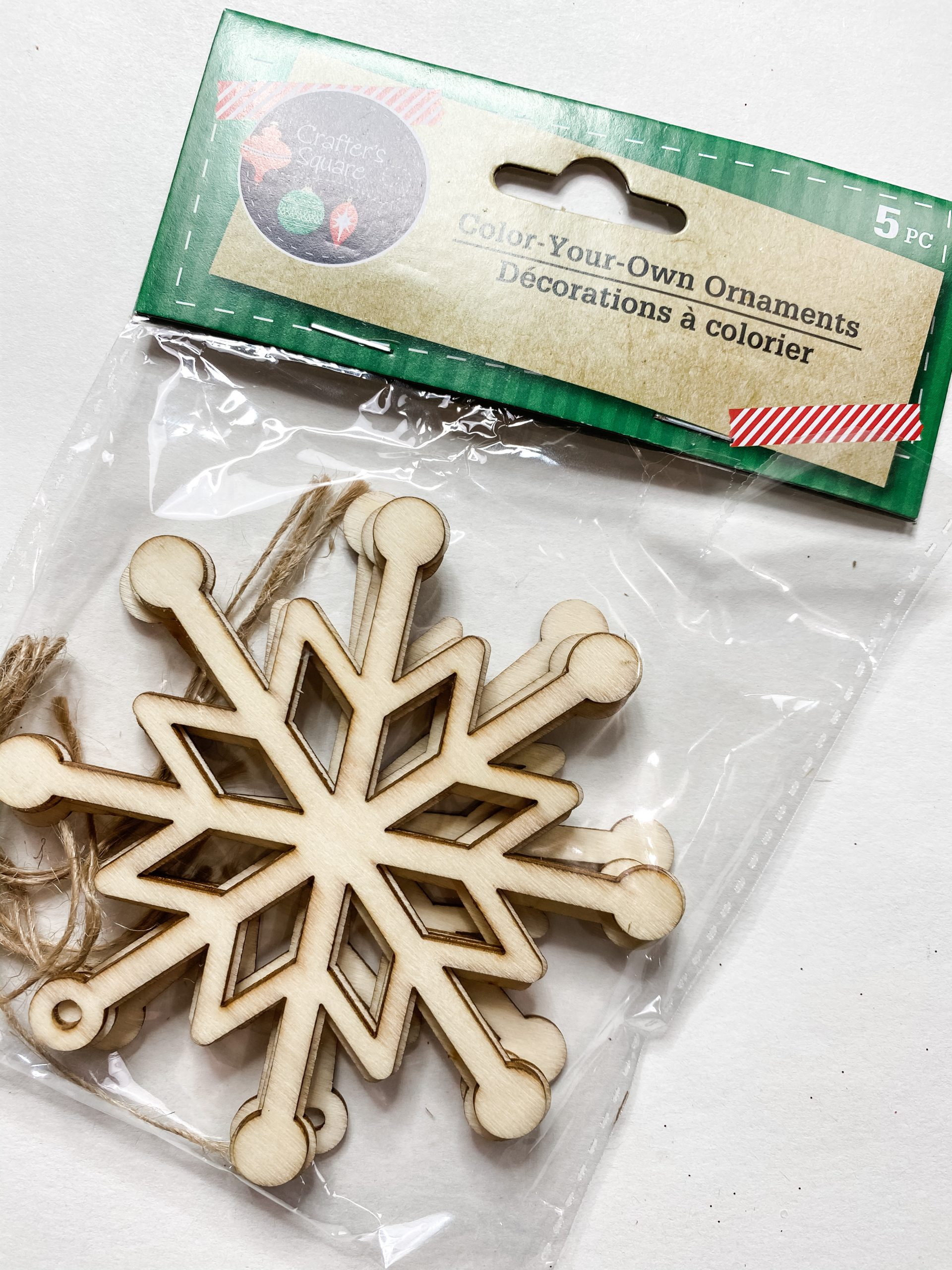 DIY Dollar Tree Snowflake Christmas Decor