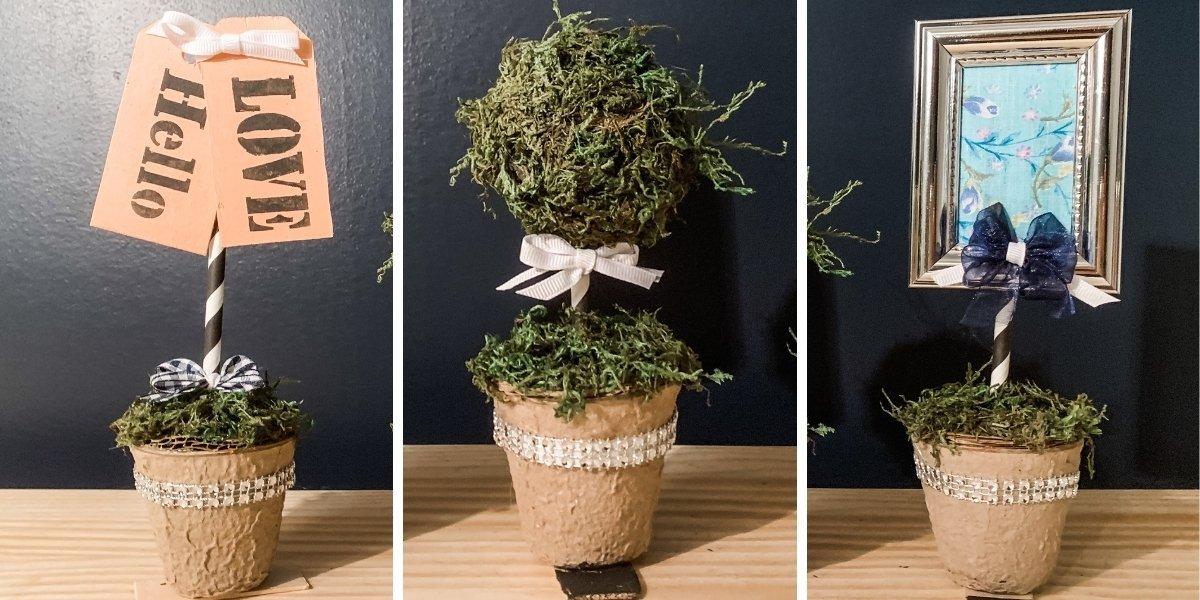 Dollar Tree Mini Planter DIY Everyday Decor